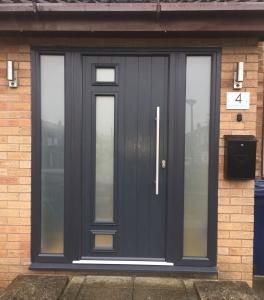 Front door - composite - Four Oaks Sutton Coldfield - Regal Home Design